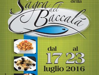 Sant' Omero - SAGRA DEL BACCALA' dal 17 al 23 luglio 2016
