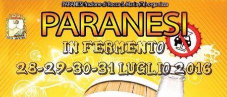 Paranesi di Rocca Santa Maria - PARANESI IN FERMENTO dal 28 al 31 luglio