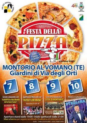 FESTA DELLA PIZZA dal 7 al 10 GIUGNO 2016