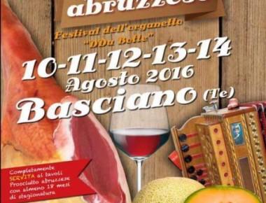Basciano - SAGRA DEL PROSCIUTTO dal 10 al 14 agosto 2016