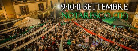 Notaresco - ABRUZZO IRISH FESTIVAL dal 9/09 al 11/09/2016