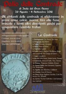 PALIO DELLE CONTRADE dal 29/08  al 4/09 2016