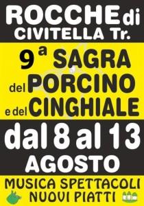 SAGRA DEL PORCINO E DEL CINGHIALE dal 8 al 13 agosto 2016