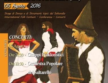 FESTIVAL DEL SALTARELLO Venerdì 5 agosto 2016
