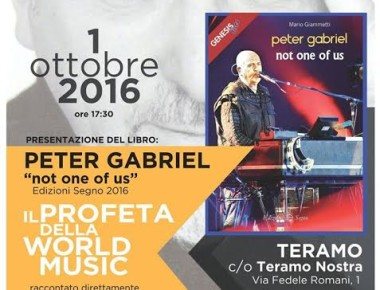 Not One Of Us Sabato 1° ottobre