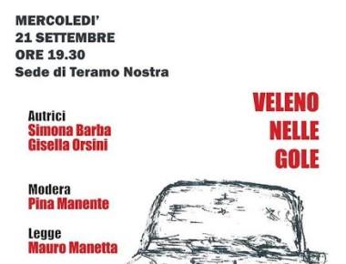 """""""Veleno nelle gole"""" 21 settembre"""
