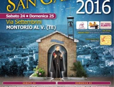 Montorio al Vomano - FESTA DI SAN GABRIELE 24-25 settembre 2016