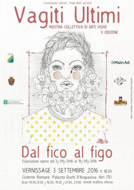 """""""DAL FICO AL FIGO"""" dal sabato 3 al  19 settembre 2016"""