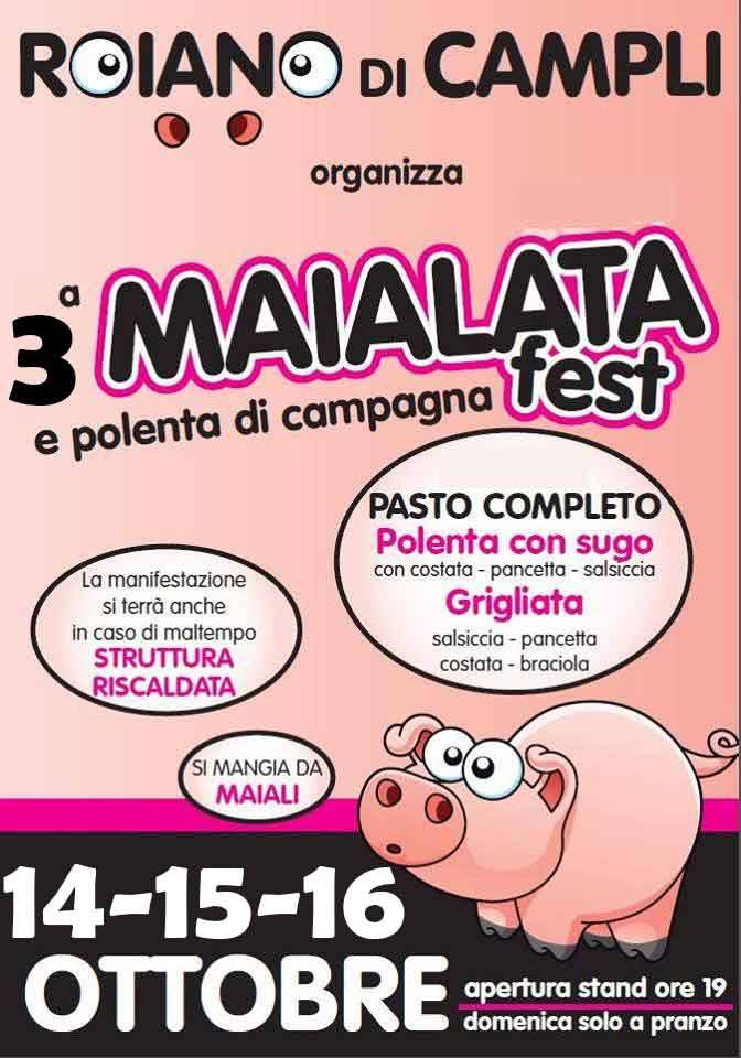 MAIALATA FEST dal 14 al 16 Ottobre 2016