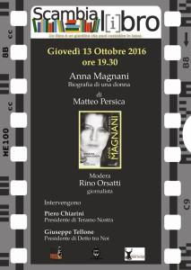 """""""Anna Magnani. Biografia di una donna"""" Giovedì 13 ottobre"""