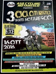 3 Cicloturistica in MTB Domenica 16 Ottobre 2016