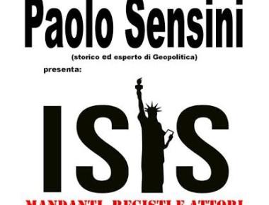 """""""ISIS: MANDANTI, REGISTI E ATTORI DEL TERRORISMO INTERNAZIONALE"""" 22 OTTOBRE 2016"""