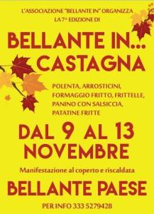 BELLANTE IN CASTAGNA 9-13 novembre 2016
