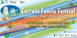 Cerrano Family Festival dal 26/10/2016 al 01/11/2016