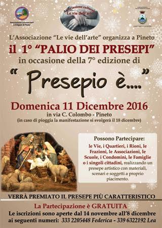 """Pineto -""""presepio è"""" 11/12/2016"""