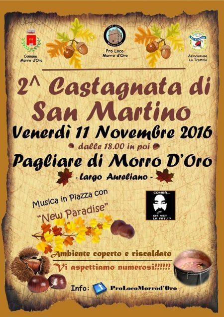 CASTAGNATA DI SAN MARTINO 11 novembre 2016