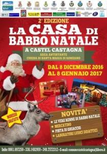 Castel Castagna - La Casa Di Babbo Natale 08/12/2016  08/1/2017