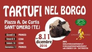 Sant' Omero -TARTUFI NEL BORGO 8 - 11 dicembre 2016