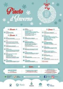 PINETO D'INVERNO 27/11/2016 - 21/1/2017