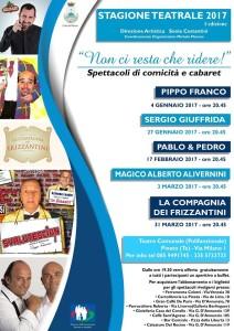 Pineto - Stagione teatrale 2017