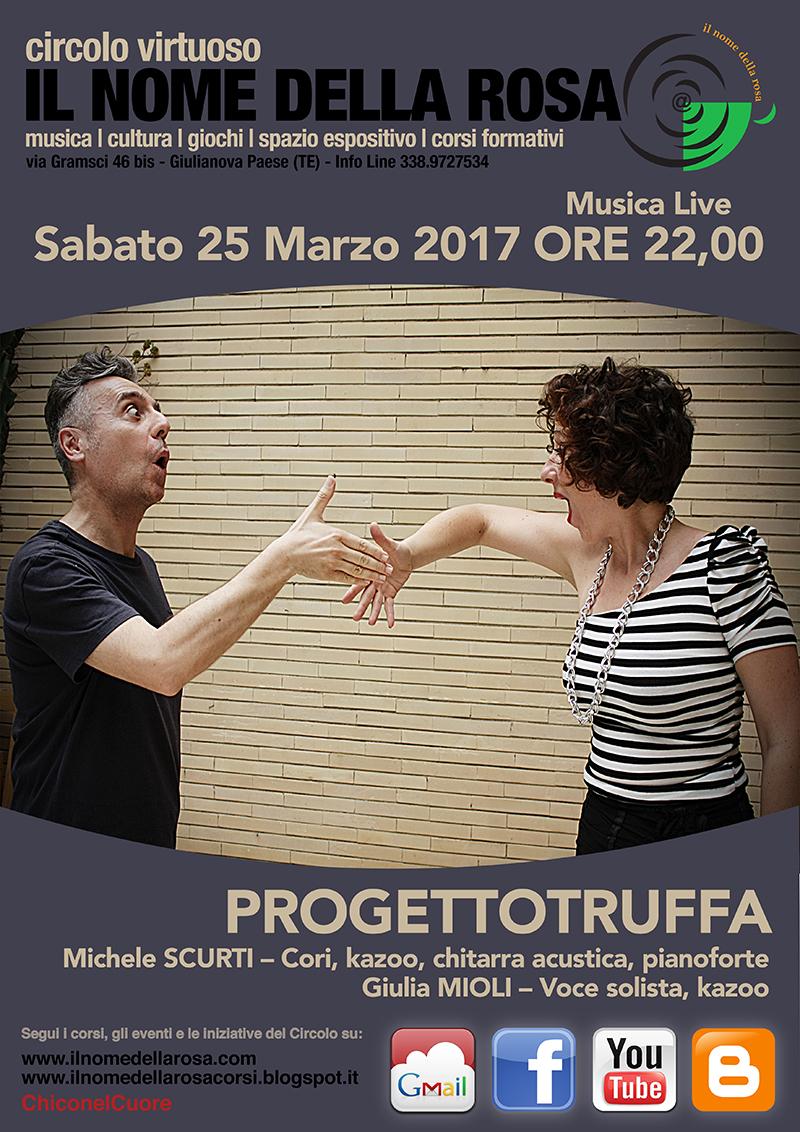 """Giulianova Alta - """"PROGETTOTRUFFA"""" Sabato 25 marzo 2017"""