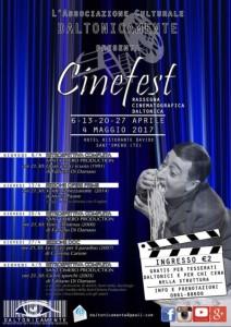 Sant' Omero - CINEFEST dal 6/04/2017 al 4/05/2017