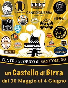 UN CASTELLO DI BIRRA dal 30 maggio al 4 giugno 2017.