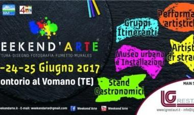 Montorio Al Vomano - WEEKEND' ARTE dal 23 al 25 giugno 2017