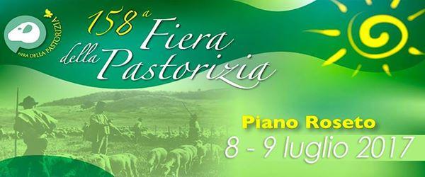 Piano Roseto - 158ª Fiera della Pastorizia 8 e 9 Luglio 2017
