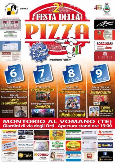 Montorio al Vomano - FESTA DELLA PIZZA dal 6 al 9 luglio 2017