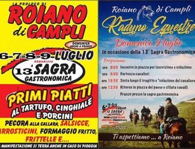Roiano di Campli - SAGRA GASTRONOMICA dal 6 al 9 luglio 2017