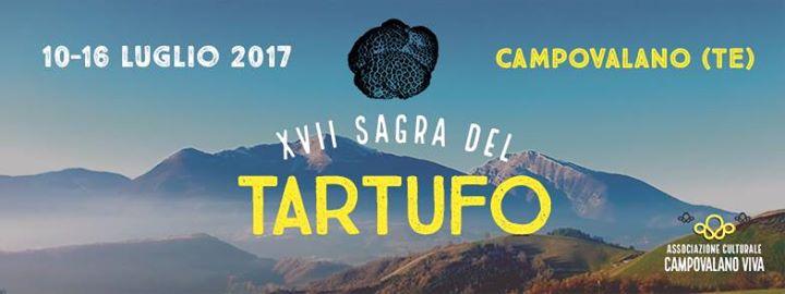 CAMPOVALANO - SAGRA DEL  TARTUFO dal 10 al 16 luglio 2017