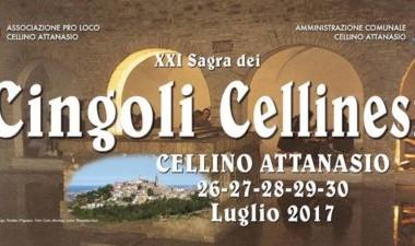 CELLINO ATTANASIO - SAGRA DEI CINGOLI CELLINESI dal 26 al 30 luglio 2017