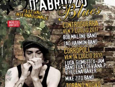 MONTEPULCIANO D' ABRUZZO BLUES   7/14/15 luglio 2017