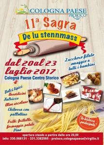 Cologna Paese - SAGRA DE LU STENNMASS dal 20 al 23 luglio 2017