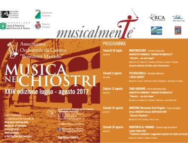 MUSICA NEI CHIOSTRI estate 2017