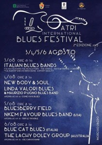 ATRI INTERNATIONAL BLUES FESTIVAL dal 3 al 6 agosto 2017