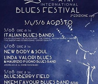 ATRI INTERNATIONAL BLUES FESTIVAL dal 3 al 6 agosto 2017