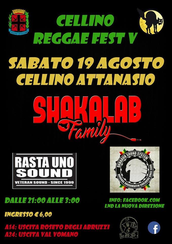 CELLINO RAGGAE FEST 19 agosto 2017