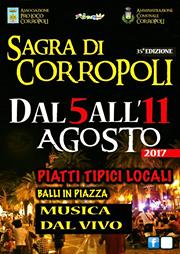 SAGRA DI CORROPOLI dal 5 al 11 agosto 2017
