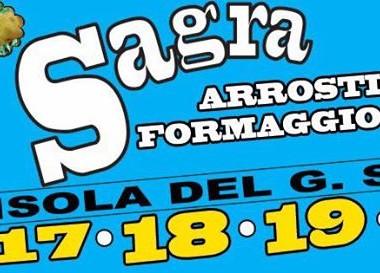 Isola del Gran Sasso - SAGRA DELL' ARROSTICINO E DEL FORMAGGIO FRITTO dal 17 al 20 agosto 2017