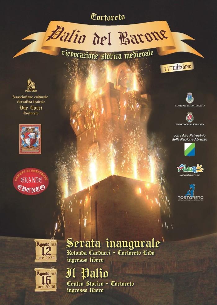 Tortoreto - Palio Del Barone Sabato 12 e Mercoledì 16 Agosto 2017