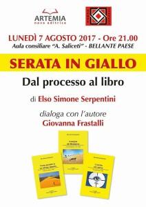 Bellante -  Serata in giallo 7 agosto 2017