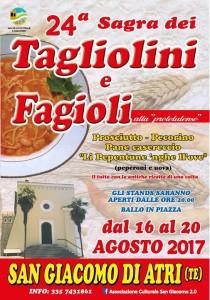 San Giacomo di Atri - SAGRA DEI TAGLIOLINI E FAGIOLI dal 16 al 20 agosto 2017