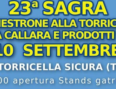 SAGRA DEL MINESTRONE  ALLA TORRICELLESE al 7 dal 10 settembre 2017