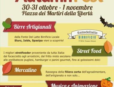 Teramo Autumn Fest dal 30 ottobre al 1 novembre 2017
