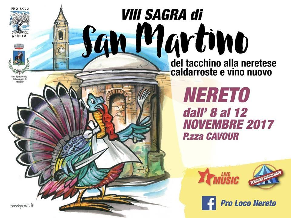 NERETO - SAGRA DI SAN MARTINO dal 8 al 12 novembre 2017