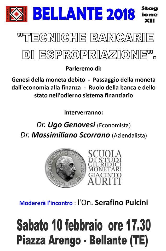 """""""TECNICHE BANCARIE DI ESPROPRIAZIONE""""."""
