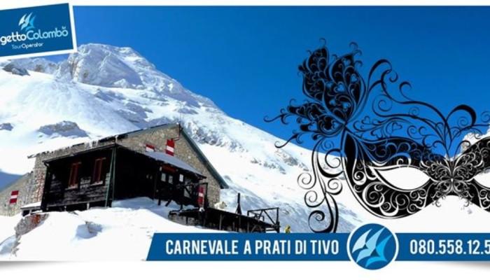 Carnevale sulla neve a Prati di Tivo dal 9 al 16 Febbraio 2018