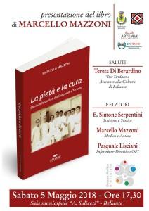 """Bellante - """"La pietà e la cura - Storia della sanità e degli ospedali a Teramo"""" 5 Maggio 2018"""